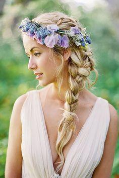 18 Braided Wedding Hair Ideas You Will Love ❤ See more: http://www.weddingforward.com/braided-wedding-hair/ #weddings #hairstyles