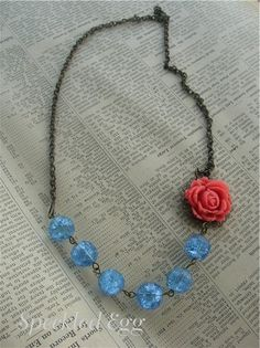 Vintage Inspired Jewelry Making - Flower Necklaces