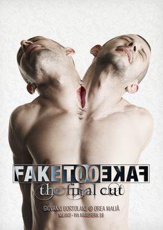 PromoCard - FAKE TOO FAKE the final cut by giovanni bortolani, via Behance