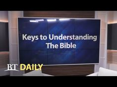 The fourth key has to do with the Source and inspiration behind the Bible.