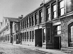 The Central Marine Engine Works offices in West Hartlepool. Photograph courtesy of Ian Malcolmson.