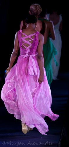 Gorgeous nuno felt silk dress.