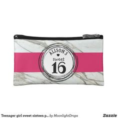 Teenager girl sweet sixteen personalized gift bag