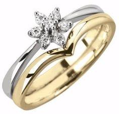 Wishbone wedding ring by www.diamondsandrings.co.uk