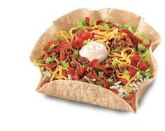 Mexican Restaurant Beef Taco Salad Calories