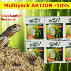 Jetzt UV-Lampen Osteraktion für Multipacks. Wir sind voll lieferfähig und beraten gerne. www.reptilesexpert.com Reptiles, Life, Action