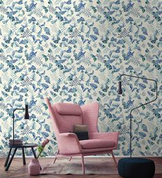 Transform your room with this waterside pattern, featuring frogs and leaves in different colors. This plant and animal motif is available in three colors. Designer Wallpaper, Pattern Wallpaper, Frogs, Different Colors, Custom Design, Plant, Study, Leaves, Child