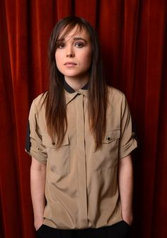 SheWired - 10 Amazing Looks in the Shocking Style Evolution of Ellen Page Ellen Page, Androgynous Fashion, Tomboy Fashion, Tomboy Style, Cara Delevingne, Selena Gomez, Blind, Fashion Mode, Fashion Tips