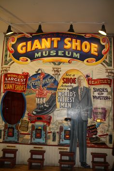 Giant  Shoe Museum at Pike's Market