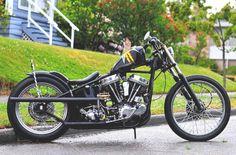 Harley-Davidson Panhead bobber