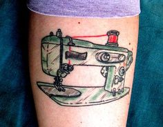 I think this is an Elna Super-matic. #sewingmachine