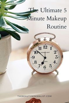The Ultimate 5 Minute Makeup Routine featured by top DC beauty blogger, The Beauty Minimalist