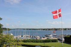 My favorite Danish town, Troense. jeg savner dig, Torense og Soren havne maestern!