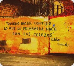 Pablo Neruda  Street Art
