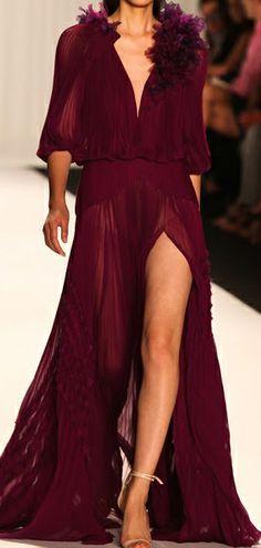 Claret Gown