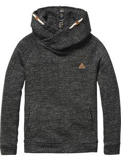 Twisted Hood Sweater | sweat | Boys Clothing at Scotch & Soda