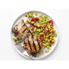 Fresh, Healthy Summer Recipes ❤ liked on Polyvore featuring food