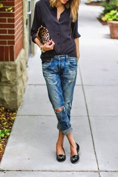 Black, leo, distressed - More http://pin-like.com/fashion/38-latest-summer-looks-and-fashion-trends.html