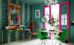 Complementary and Sophisticated Pink Green Color Schemes Inspired by Romantic Water Lilies
