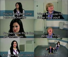 Sonny with a chance(: hahaha loved this show.though after they got rid of Sunny.it started to become boring as in the name SUNNY With a Chance they shouldn't have gotten rid of Sunny 😔😟 Disney Memes, Disney Quotes, Icarly, Disney And Dreamworks, Disney Pixar, Hannah Montana, Demi Lovato, Old Disney Shows, Sonny With A Chance