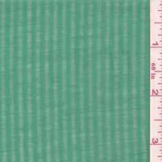 Jade Green Stripe Lawn - Fabric By The Yard. More for BB's Feliz dress