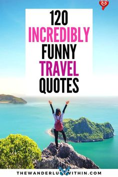 120 Funny Travel Quotes That Will Make You Chuckle Here's the biggest collection of oh-so relatable funny travel quotes all in one place, designed to put a smile on your face and inspire your next travel adventure #travelquotes #funnytravelquotes  | funny travel quotes lol | funny travel quotes hilarious vacations | funny travel quotes friends | funny travel quotes humor hilarious | funny travel quotes hilarious laughing | funny travel quotes humor laughing | funny travel quotes fun | short… Travel With Friends Quotes, Funny Travel Quotes, Travel Humor, Travel Stuff, Vacation Humor, Vacation Quotes, Cruise Quotes, Road Trip Quotes, Couple Travel