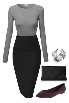 Great outfit for work, very feminine, form fitting and completely professional