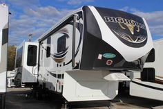2016 New Heartland Bighorn 3160EL Fifth Wheel in Tennessee TN.Recreational Vehicle, rv, 2016 Heartland Bighorn3160EL, 32-inch TV - Bedroom, 6pt. Auto Leveling System, Bighorn Premier Package, Convection microwave, Deluxe Coffered Ceiling, Electric Fireplace, King of The Mountain Package, Power cord reel, Power Theatre Seat, Programmable Combo Safe, RVIA Seal, Winterization,