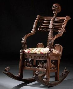 Home Furnishings that are Seriously Wrong Skeleton Chair, 13 Home Furnishings that are Seriously WrongHome Sweet Home Home Sweet Home may refer to: Skull Furniture, Cheap Furniture, Unique Furniture, Furniture Design, Bedroom Furniture, Furniture Ideas, Sofa Ideas, Furniture Chairs, Discount Furniture