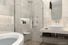MALÉ KÚPEĽNE - Riešenia & Dizajn / BENEVA Bathroom Lighting, Bathtub, Mirror, Furniture, Home Decor, Bathroom Light Fittings, Standing Bath, Bathroom Vanity Lighting, Bathtubs