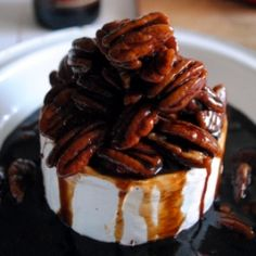 Sweet Baked Brie with Nuts | Brie Cheese Board: The Queen of all ...