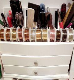 69 Ideas Jewerly Making Organization Bead Storage For 2020 Bead Organization, Bead Storage, Craft Storage, Jewellery Storage, Jewellery Display, Jewelry Shop, Fine Jewelry, Handmade Jewelry, Jewelry Design