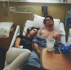 I can see this being us because you and ur cousin lane are crazy and do stupid shit. But knoiw i will be right there with u in the hospital
