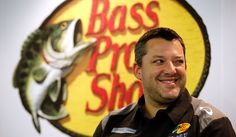 Tony Stewart is all smiles as he makes the announcement that Bass Pro Shops will serve as primary co-sponsor of his No. 14 Chevy in 2013. View more photos from the press conference here: http://www.stewarthaasracing.com/fan/galleries/2012-bass-shop-pro/#