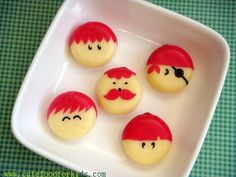 *Babybel Cheese Boys ... perfect for a Birthday Party (from Foodiggity Blog)
