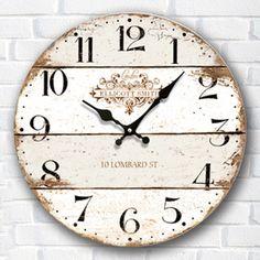 Europe Retro Clock Creative living room American  clock Simple decorative clock Bedroom fashion quartz clock G