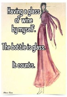 Humor - The bottle is glass.it counts! Wein Parties, Georg Christoph Lichtenberg, Funny Confessions, Wine Quotes, Wine Sayings, In Vino Veritas, Wine Drinks, Beverages, Laugh Out Loud