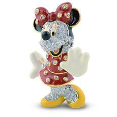 Minnie Mouse Jeweled Figurine by Arribas $150
