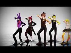 [MMD] Uptown Funk [FNAF 1 Cast] [HD] - YouTube