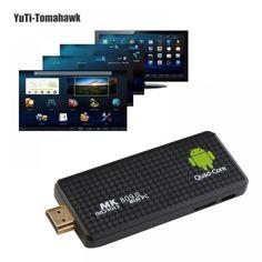 Enormous Smart Tv No Quarto Android Video, Android 4, Quad, Power Adapter, Bluetooth, Tv Box, Mini Pc, Audio, 2gb Ram