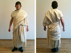 von mri: how to wrap a toga two easy ways. Götter des Olymp: Toga wickeln tutorial