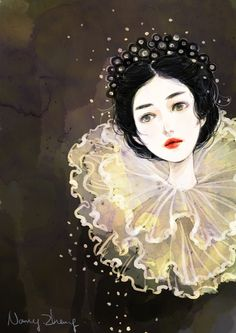 Rosamaria G Frangini | Art Print To Me | Painting Women | Laura Levada