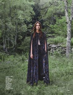 Boho Chic Comes To Life In Christopher Ferguson's Shoot for GRAZIA Italy