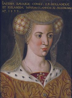 Jacqueline of Bavaria, Countess of Hainaut c. 1440 Dutch school