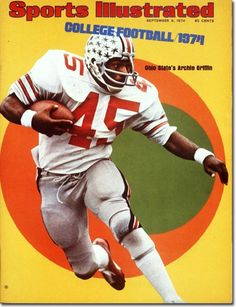 Archie Griffin OHIO STATE - September 09, 1974 | Volume 41, Issue 11