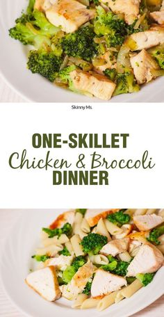 One-Skillet Chicken and Broccoli is a timeless classic--so easy and a great family meal.