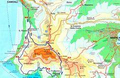 percorso panoramico per trekking da Camogli a San Fruttuoso