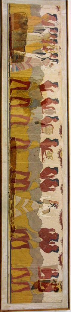 Bronze age fresco, Crete
