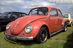 Coral #VW #Beetle NDN688M