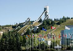 Canada Olympic Park,and Olympic Hall of Fame(largest olympic museum in North America)
